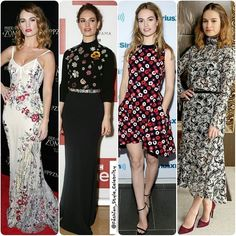 #LilyJames FLORAL MOMENTS#floral #gown #floralgown #dress #cinderella #blonde #black #fashion #blogger #party #croptop #cool #fall #bracelet #blog #luxury #instablog #beautiful #pretty #instafashion #instastyle #fashionblogger #leather #boots #beauty #makeup #igers #inspo... - Celebrity Fashion