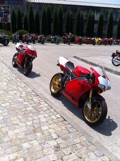 2 very nice 998's (ducati 916...fb)