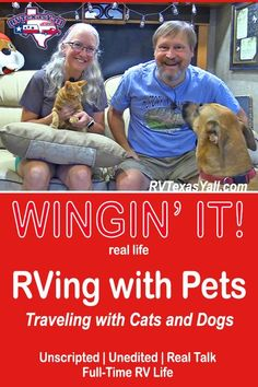 Traveling with our pets is one of the best things about RVing. Here are our top tips for making RV travel and road trips with dogs and cats more fun, safe and comfortable for the whole family! Road Trip With Dog, Dog Travel, Travel Tips, Rv Camping, Camping Hacks, Pet Friendly Hotels, Cat Harness, Hiking Dogs, Rv Parks