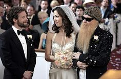 I love Angela Montenegro's wedding dress from the end of the second season of Bones. The sweetheart neckline and that really fun hood are the best parts.