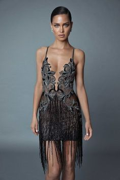 All black and all sexy Evening line 2019 Black Prom Dresses, Sexy Dresses, Dress Outfits, Nice Dresses, Short Dresses, Fashion Dresses, Couture Fashion, Runway Fashion, Gatsby