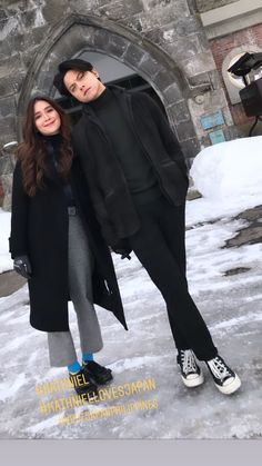 Kathryn Bernardo Photoshoot, Kathryn Bernardo Outfits, Daniel Padilla, Ootd, Celebrity Couples, Pants Outfit, Ulzzang Girl, Couple Photography, Couple Goals