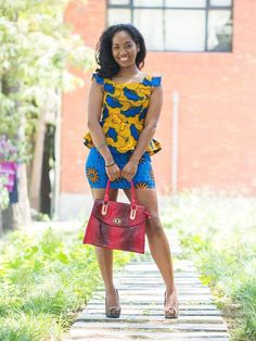 Super cute!. #Africanfashion #AfricanWeddings #Africanprints #Ethnicprints #Africanwomen #africanTradition #AfricanArt #AfricanStyle #Kitenge #AfricanBeads #Gele #Kente #Ankara #Nigerianfashion #Ghanaianfashion #Kenyanfashion #Burundifashion #senegalesefashion #Swahilifashion ~DK