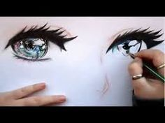 Resultado de imagen para anime eyes color