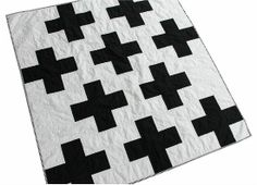 Owen's Olivia: cross quilt finish    Reminds me of minecraft!