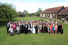 Group wedding photograph