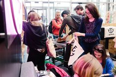 We took our showroom down to Birmingham Design Festival, as well as giving you the chance to screen print a bag!