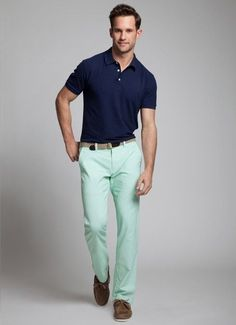 Polo Tshirt with Chinos for all the men who love to remain in style.