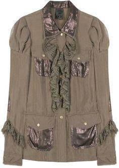 f1b0254cf4cb Anna Sui Paillette Detailed Jacket - ShopStyle Casual