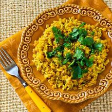 Curried Rice and Red Lentils Recipe