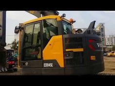 The optimized hydraulics system combined with the fully electronic control system and advanced ECO mode, matches engine power, improves controllability and c. Volvo, Engineering, Youtube, Mechanical Engineering, Technology
