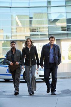 TV SHOWS: Stana Katic on Castle (Season 5)