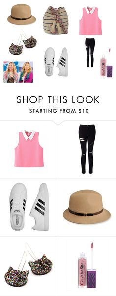 """Ollivander"" by nadaanja ❤ liked on Polyvore featuring Miss Selfridge, adidas, Betmar and Guanábana"