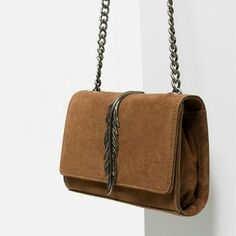 a25f7b75a982 Zara Must Have Leather Bag (8127) Leather Crossbody Bag, Leather Bag,  Crossbody