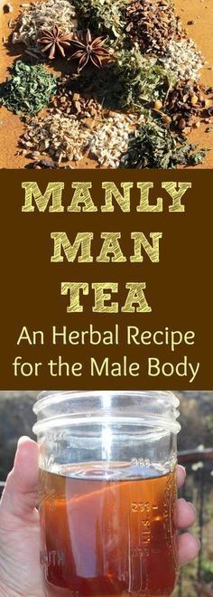 Herbs are wonderful for helping support the male reproductive system and libido! Here is a recipe for an herbal tea blend that targets the male body! It helps to stabilize and increase energy supports prostate health tastes delicious and can be used da Cold Home Remedies, Natural Health Remedies, Herbal Remedies, Herbal Tea Benefits, Herbal Teas, Tea Blends, Medicinal Herbs, Tea Recipes, Detox Recipes