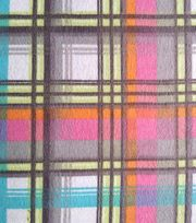 Snuggle Flannel Fabric-Pastel Plaid,
