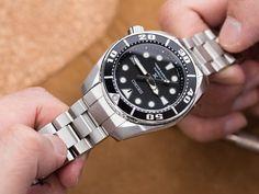 尋找過中的樂趣-鋼錶帶篇~如何自行更換不鏽鋼錶帶! Seiko 精工 Sumo 細MM SBDC031