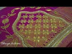 Aari Embroidery, Sleeve Designs, Bridal, Stone, Blouse, Youtube, Sleeves, Fashion, Moda