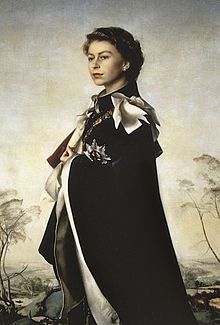 Regina Elisabetta                             http://it.wikipedia.org/wiki/Pietro_Annigoni