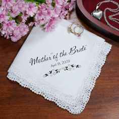 Personalized Wedding Personalized Wedding Ladies Handkerchief