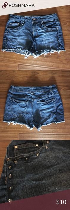 Forever 21 High Waisted Shorts Only worn twice and super comfortable! Open to offers! Forever 21 Shorts Jean Shorts