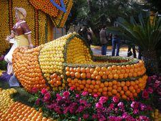 Carnaval de La Nouvelle-Orléans    La fête des citrons de Menton