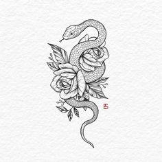 - tattoo old school tattoo arm tattoo tattoo tattoos tattoo antebrazo arm sleeve tattoo Snake And Flowers Tattoo, Flower Tattoo Drawings, Tattoo Design Drawings, Flower Tattoo Designs, Tattoo Sketches, Small Snake Tattoo, Floral Tattoo Design, Butterfly Tattoos, Watercolor Tattoos
