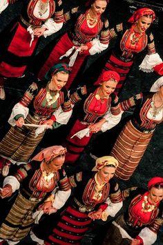 Serbian (Bosilegrad ,Southern Serbia ) and Bulgarian folk costume *ansambl KOLO foto Jelena Janković