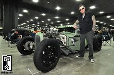 """/ Voodoo Larry's """"Voodoo Psychosis"""" 1931 Ford and the man himself...VDL"""