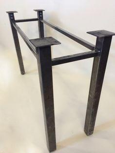 Metal Table Legs, Iron Table Legs, Industrial Table Legs, Console Table, Desk, Bench, Coffee table & Custom Legs, Counter Legs, Sturdy Legs