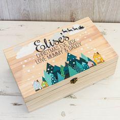 nachhaltige verpackung weihnachten geschenk holzbox #christmas #presents #deko #decoration #celebration #ideas