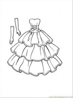 10 En Iyi Elbise Boyama Görüntüsü Embroidery Paper Dresses Ve