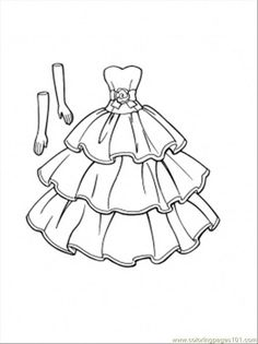 1000 Images About Dress Template On Pinterest