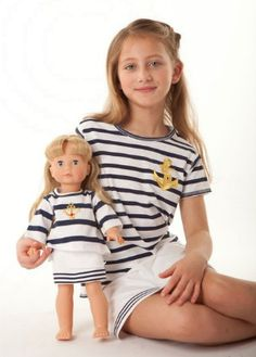 Matching customizable clothing for her & her doll :) {Summer 2011} http://ow.ly/8xTmk