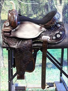 Does anyone have $445 (plus shipping) that I can borrow? I'm considering selling my horse. . . for this saddle.