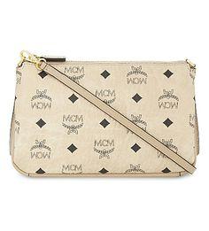 MCM . #mcm #bags #shoulder bags #leather #