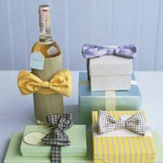 Bow Tie Gift Wrap {Present Wrap}