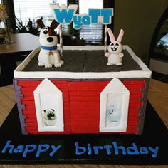 Secret life of pets cake we can make your custom cake specialized at weddings…