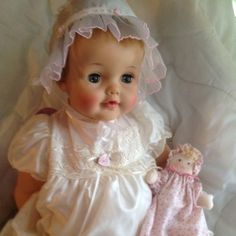 "Vintage IDEAL Betsy Wetsy Doll 20"" I had one of these two:)"
