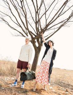 koreanmodel: Kang So Young, Han Seung Soo by J. Dukhwa for Ceci Korea April 2015