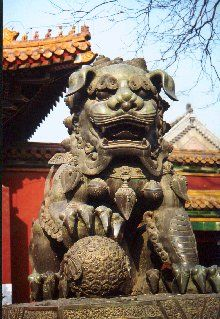 The Lama Temple, Beijing, China. Foo Dog, Chinese Culture, Chinese Art, All About China, Chinese Buildings, China Today, Air China, Living In China, Beijing China