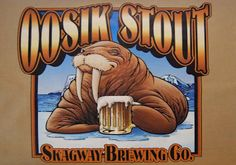 Funny Beer Names - Oosik Stout
