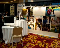 Carlos Valentino Photography booth at the April show.
