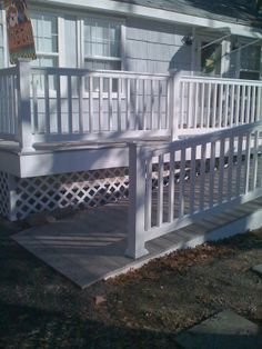 Some decks are for function, not fashion.. but that doesn't mean they can't still be beautiful! allvinylfence.com