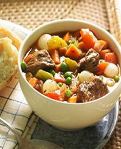 WW Stovetop Beef Stew-8 Points+, Makes 6 Servings.