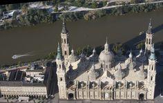 Panorámica de la Basílica del Pilar