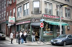 The famous Polcari's Market in Boston's Little Italy - great place for spices and specialities! via Beers & Beans