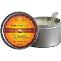 Earthly Body Dreamsicle 3-in-1 Massage Candle 192g / Massage Oil Candle