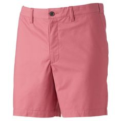 Featuring a stretch fabric blend, these men's Croft & Barrow shorts keep you feeling great all day. Mens Fitness, Stretch Fabric, Stretches, Bermuda Shorts, Casual Shorts, Flats, Classic, Fit Men, Products