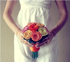 felt bouquet- you can keep your flowers forever:)